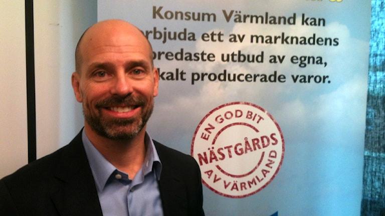 Thomas Sjölander, tillförordnad vd för Konsum Värmland.
