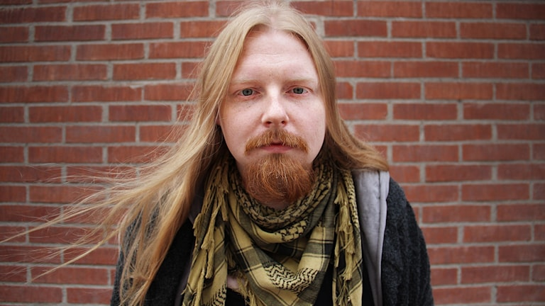 Patrik Fahlin. Foto: Lars-Gunnar Olsson/Sveriges Radio.