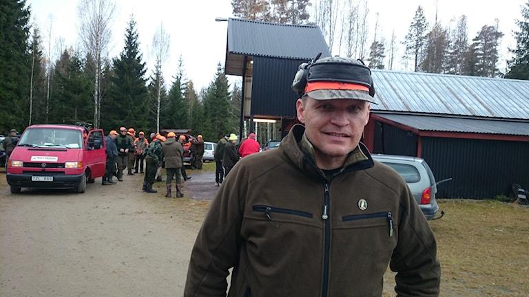 Lennart Johannesson, Jägareförbundet Värmland. Foto: Lennart Nordenstein.
