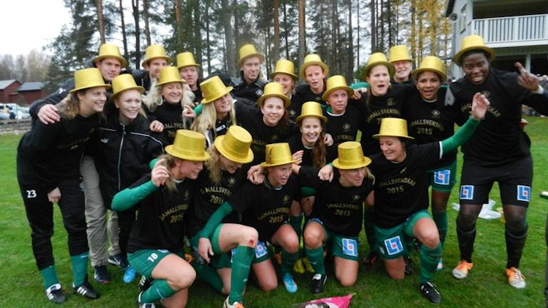 Mallbackens IF. Foto: Christian Fryklund/Sveriges Radio
