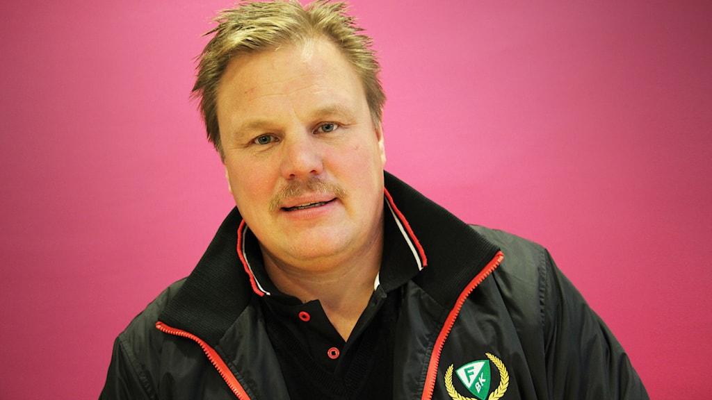 Leif Carlsson. Foto: Lars-Gunnar Olsson/Sveriges Radio.