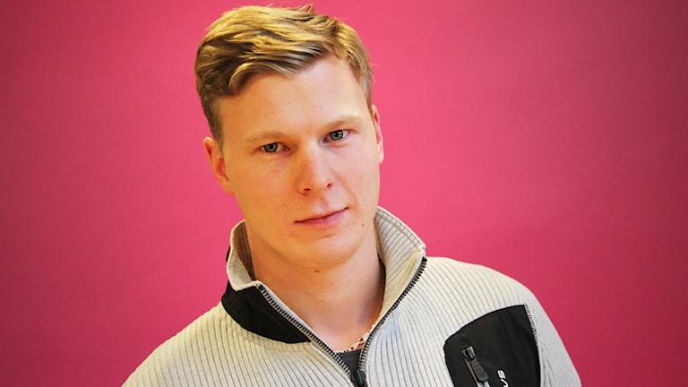 Johan Kristoffersson. Foto: Lars-Gunnar Olsson/Sveriges Radio.
