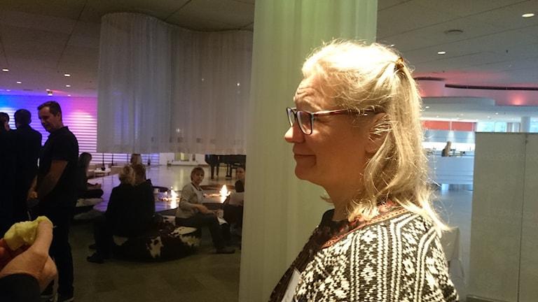 Ylva Gustafsson. Foto: Lennart Nordenstein.