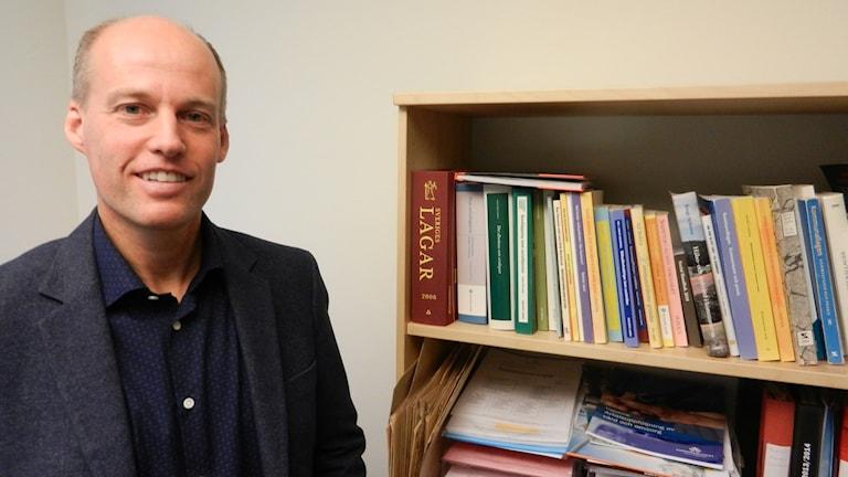 Mikael Lindh betällarchef på vård och omsorgsförvaltningen i Karlstads kommun.