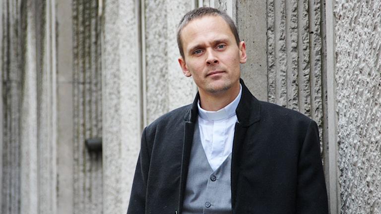 Cristoffer Forssander. Foto: Lars-Gunnar Olsson/Sveriges Radio.