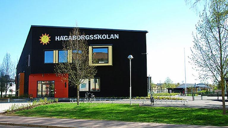 Hagaborgsskolan. Foto: Karlstads kommun.§
