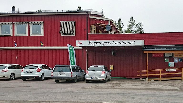 Bograngens Lanthandel. Foto: Lennart Nordenstein/Sveriges Radio.