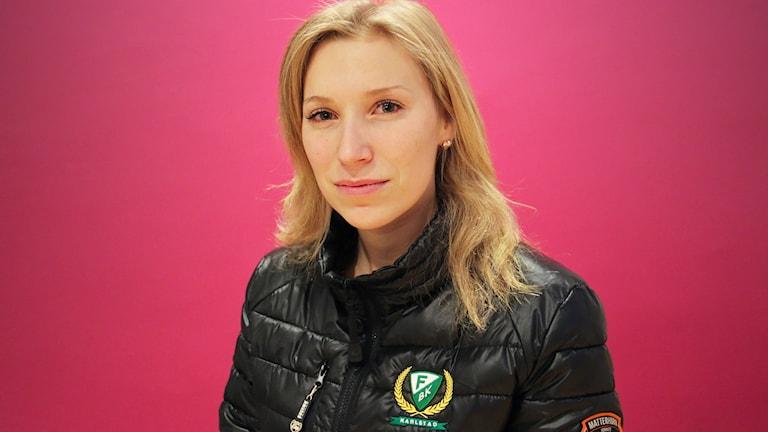 Tilda Antonsson. Foto: Lars-Gunnar Olsson/Sveriges Radio.