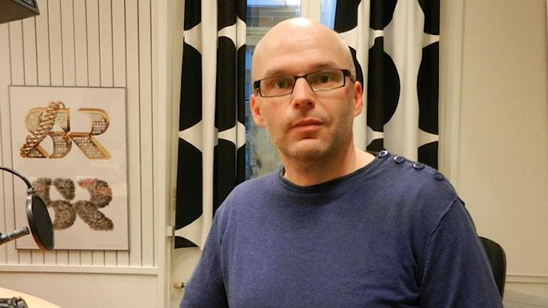 Magnus Åberg, lektor i genusvetenskap vid Karlstads universitet. Foto: Hedvig Nilsson