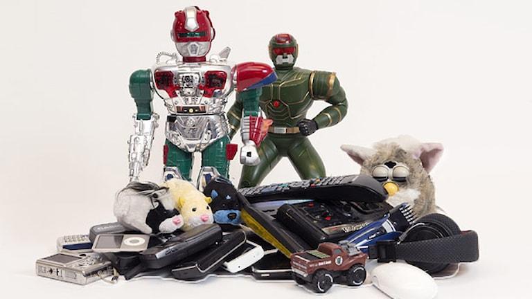 Elprylar, leksaker, mobiler m m. Foto: Pressbild.