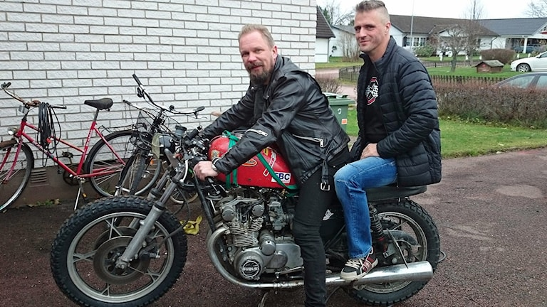 Kennet Bornstedt och Martin Swensån. Foto: Lennart Nordenstein/Sveriges Radio.