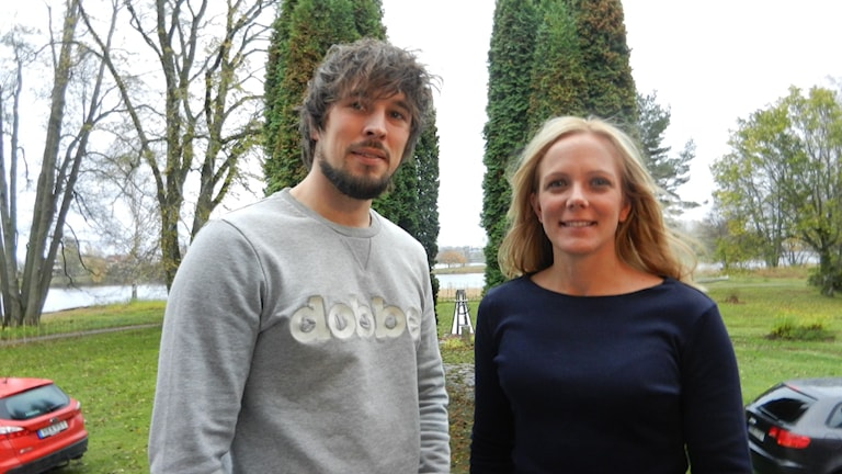Martin Seppenän enhetschef och Emma Kjesbo samordnare.
