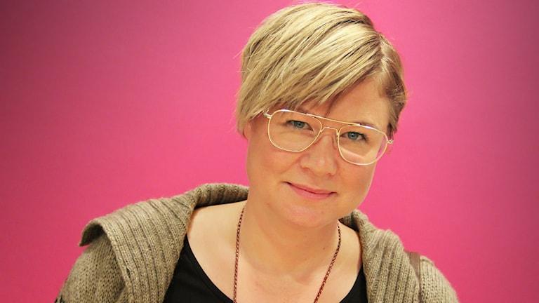 Melinda From. Foto: Lars-Gunnar Olsson/Sveriges Radio.