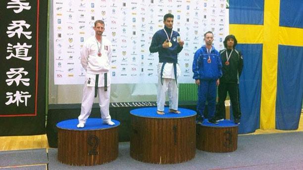 Ibrahim Husseini.  Foto: Karlstad Shotokan Karate.