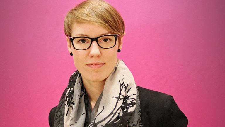Beatrice Högå. Foto: Lars-Gunnar Olsson/Sveriges Radio.