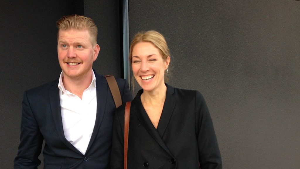 Oscar Magnusson och Karolina Nolin.