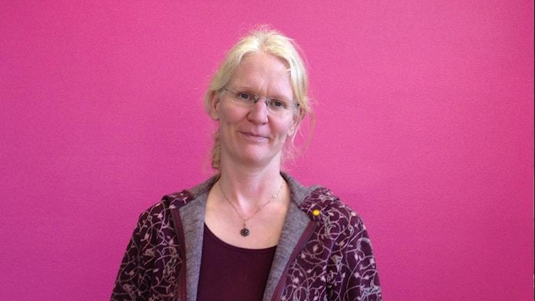 Ute Attermeyer, överläkare på Centrum för ätstörningar på Centralsjukhuset i Karlstad. Foto: Emilie Pless/Sveriges Radio.