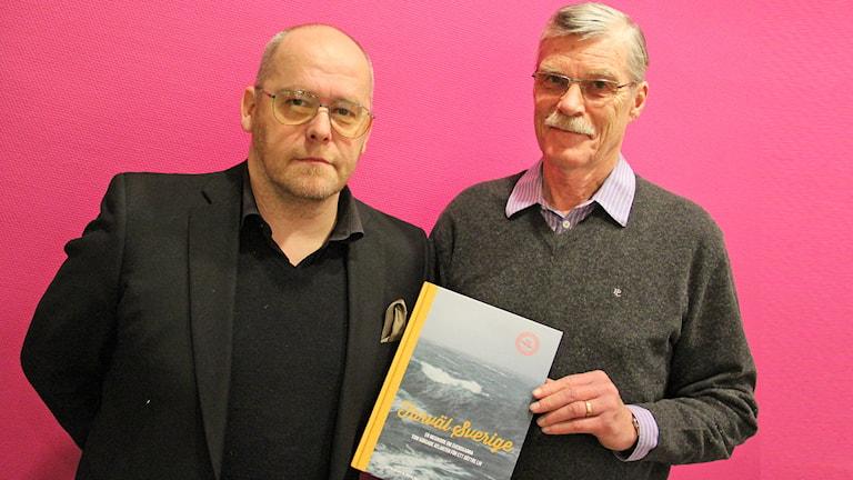 Peter Russberg och Alf Brorson. Foto: Sveriges Radio