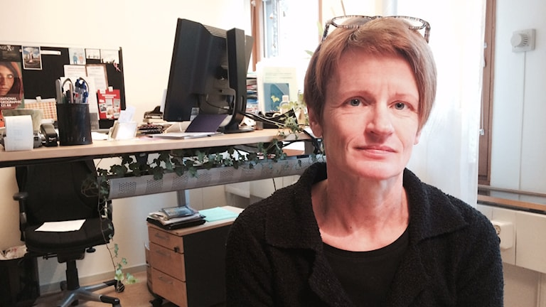Karin Karlsson verksamhetschef på kultur och föreningsstöd på Karlstads kommun. Foto: Jenny Tibblin, Sveriges Radio