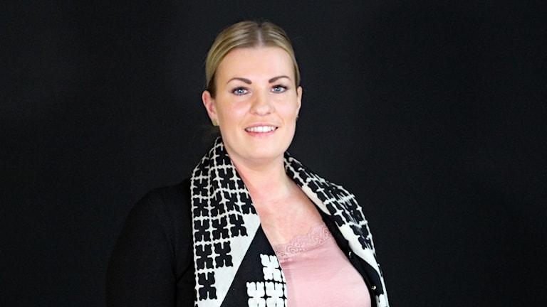 Anna Henriksson, mäklare och vd. Foto: Örjan Bengtzing/Sveriges Radio.