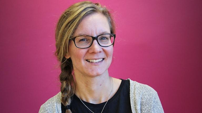 Gunilla Fält. Foto: Lars-Gunnar Olsson/Sveriges Radio.