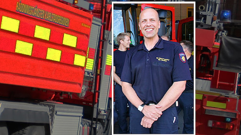Nils Weslien, räddningschef. Foto/Montage/Sveriges Radio.