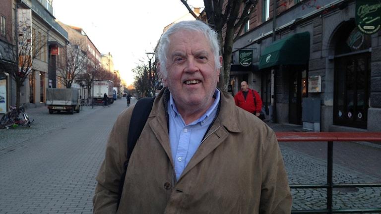 Lennart Björk, ordförande i Karlstads handikappföreningar.