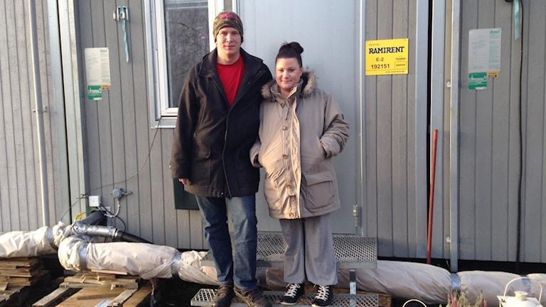 Pierre Eliasson och Vicky Bran.
