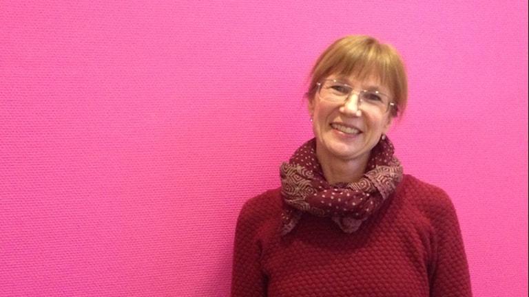 Cecilia Alfraeus, barnmorska i Karlstad. Foto: Emilie Pless/Sveriges Radio.