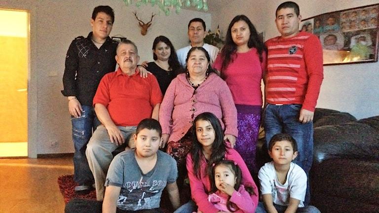 Familjen Parra Guzman