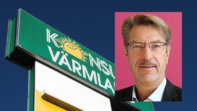 Steve Fredriksson. Foto: Lars-Gunnar Olsson/Sveriges Radio.