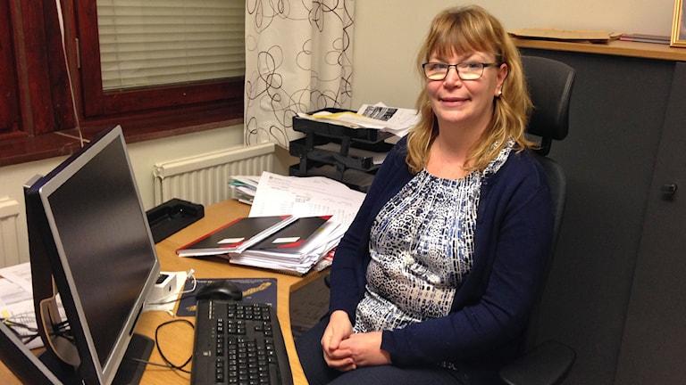 Christina Widén, ekonomichef på barn och ungdomsförvaltningen i Karlstad.