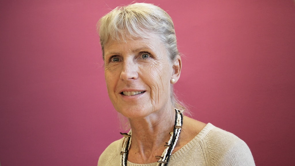 Agneta Nilsson Lohse. Foto: Lars-Gunnar Olsson/Sveriges Radio.