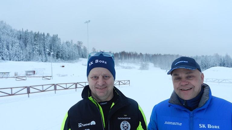 Jonny Andersson och Hans Carlsson