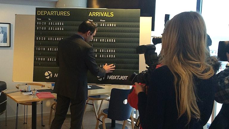 Utökat antal avgångar från Karlstad flygplats.