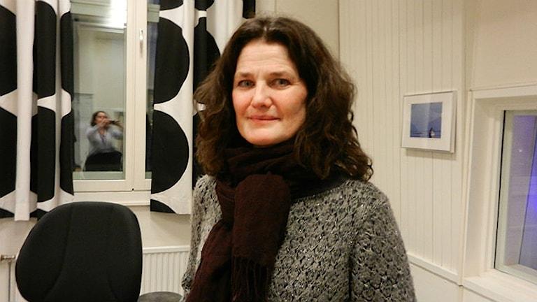 Ann Bergman, chef för Konfuciusinstitutet vid Karlstads universitet. Foto: Hedvig Nilsson