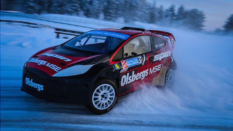 En rallycrossbil. Foto: Jakub Nitka.