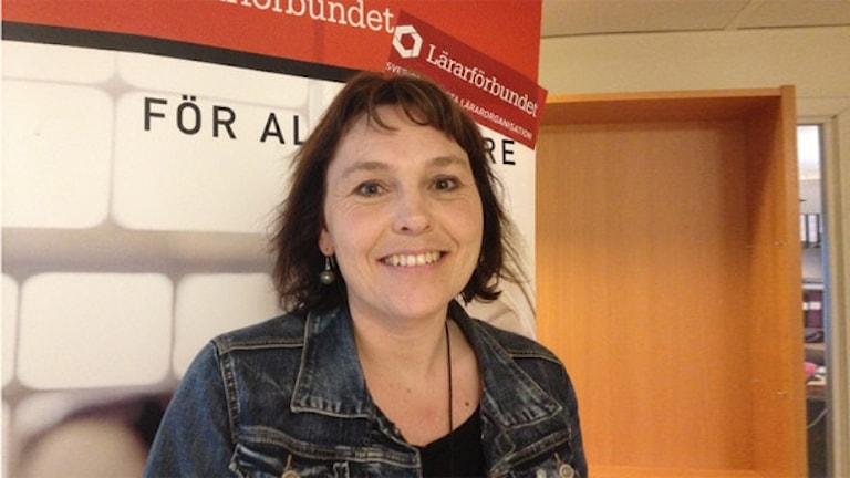 Josefine Dedorsson. Foto: Therese Thorén/Sveriges Radio.