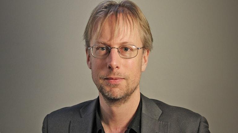 Mathias Lindquist (S), kommunalråd i Munkfors. Foto: Lars-Gunnar Olsson/Sveriges Radio.