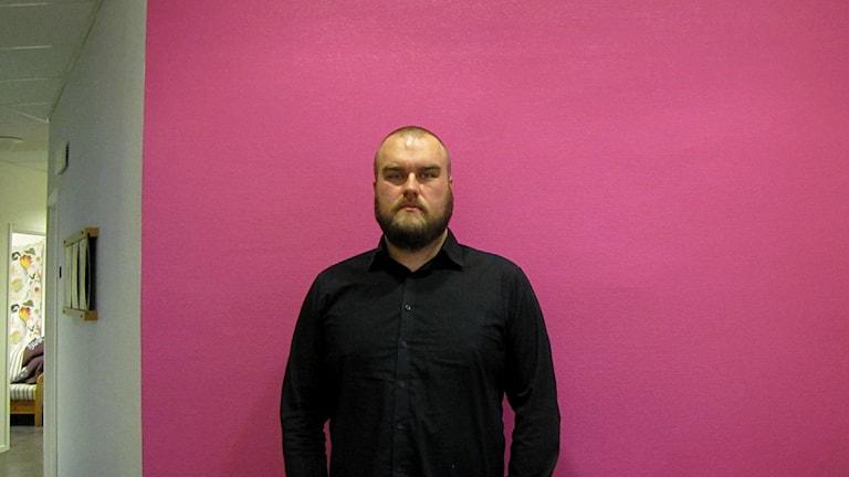 Anders Helgesson. Foto: Anna Lingsell/Sveriges Radio.