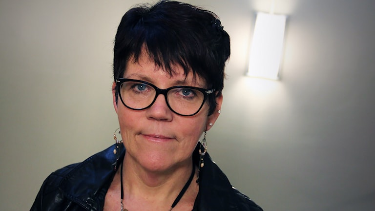 Carina Liljemark. Foto: Lars-Gunnar Olsson/Sveriges Radio.