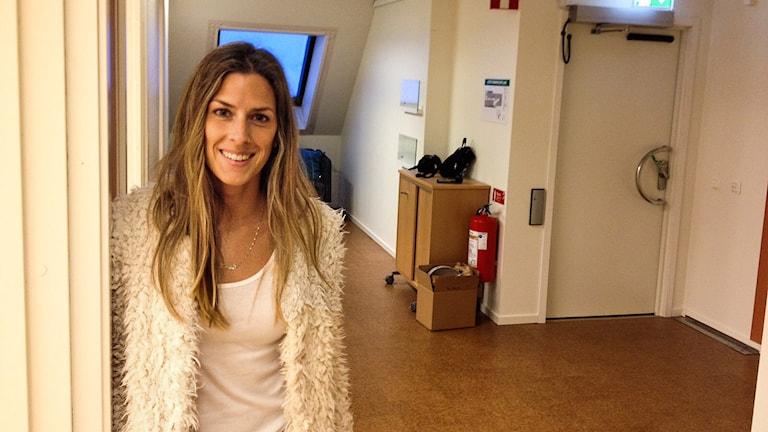 Karin Kilman. Foto: Annika Ström/Sveriges Radio.