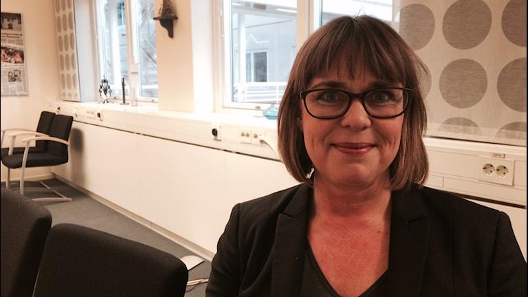 Anna Lundmark Lundberg,  vd på Almi Värmland. Foto: Jenny Tibblin, Sveriges Radio.