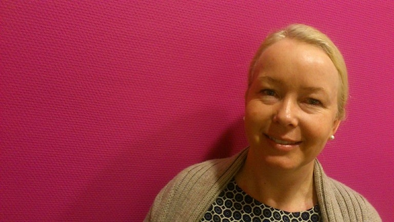 Pernilla Samuelsson. Ung Idé Värmland. Communicare. Foto: Bengt Höglind/Sveriges Radio