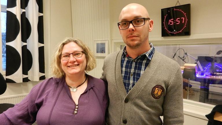Susanne Kielba och Peter Sundin