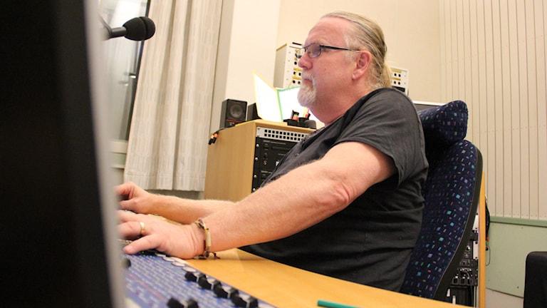 Björn Söderholm. Foto: Lars-Gunnar Olsson/Sveriges Radio.
