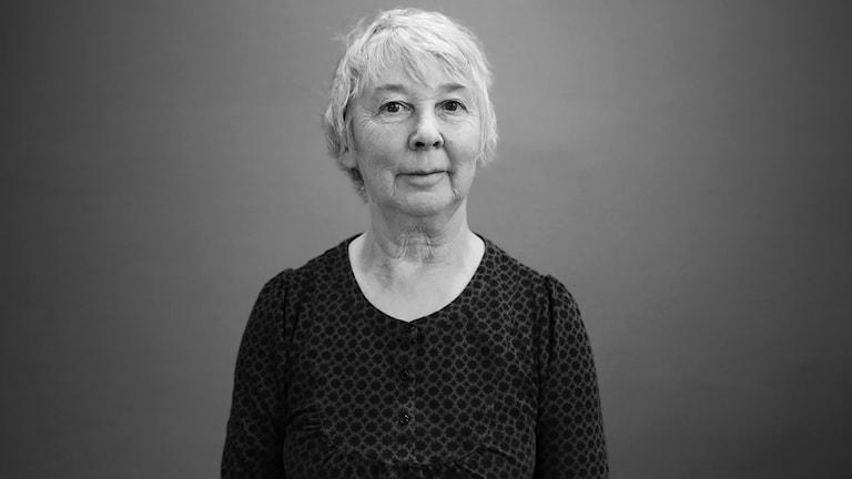 Kay Cuthbert.  Foto: Lars-Gunnar Olsson/Sveriges Radio.