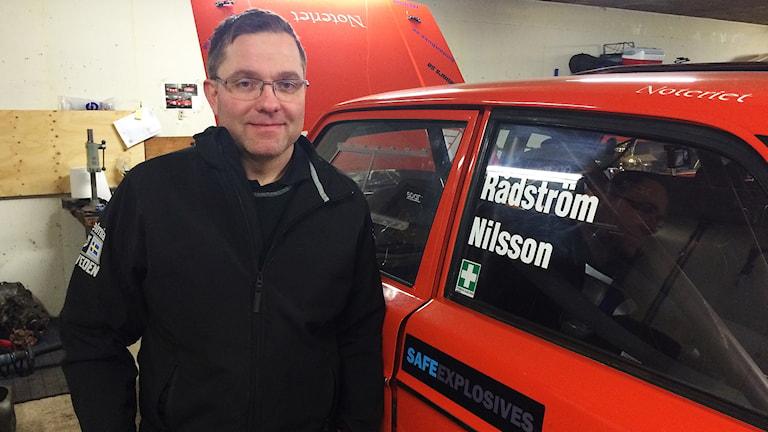 Arne Rådström. Foto: Mats Fagerström/Sveriges Radio.