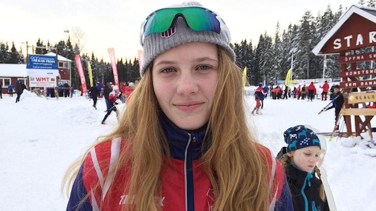 Maja Eriksson. Foto: Mari Stenström/Sveriges Radio.