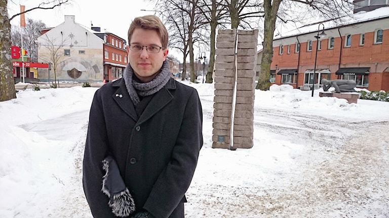 Fredrik Andersson. (M) 2:e vice ordförande i Sunne kommunfullmäktige. Foto: Lennart Nordenstein.